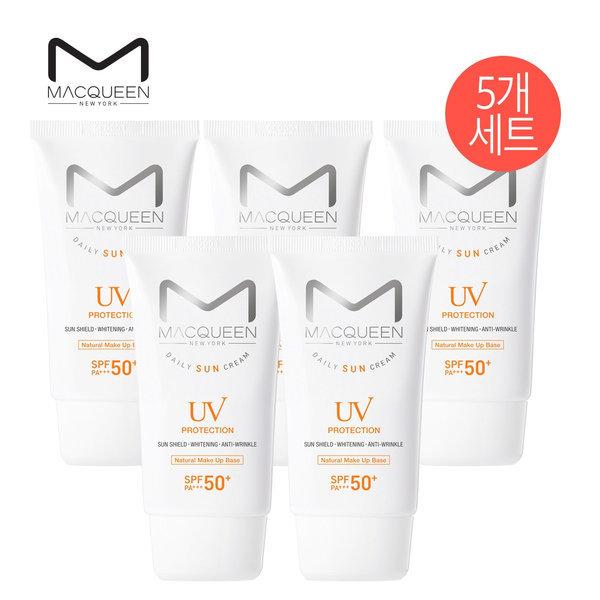 맥퀸뉴욕  1+1+1+1+1 UV 데일리 수분/매트 선크림 5개세트