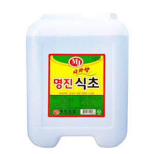 대용량 명진식초 12kg 식초/식품첨가용/청소용/세탁용