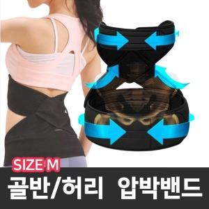 엑스가드 골반/허리 압박밴드 온열 밴드 사이즈 M