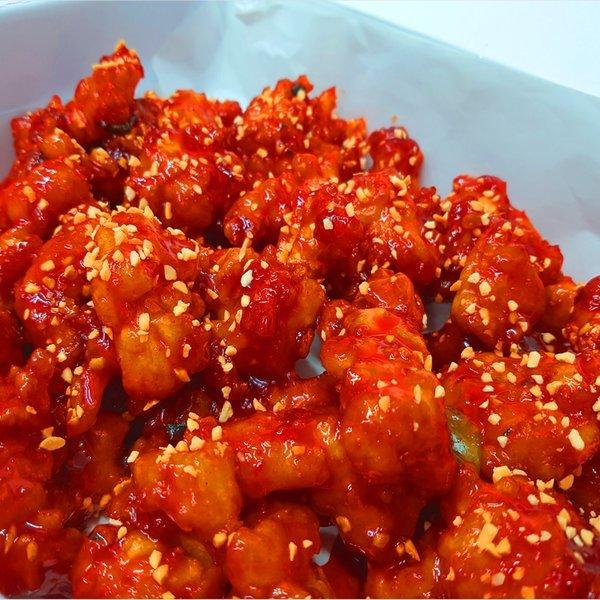 현지인맛집선정속초쌀닭강정1700g순살닭강정1300g