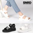 신발 여성용 키높이 여름 패브릭 기본 샌들 SN239