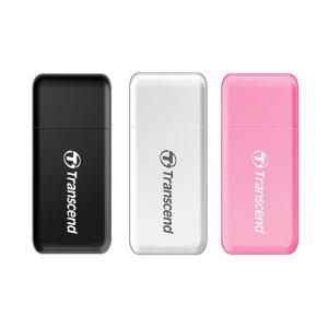 트랜센드 RDF5 USB 3.1(1세대)/3.0 카드 리더기