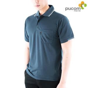 단체복 남성 반팔 카라티 티셔츠 IS-07