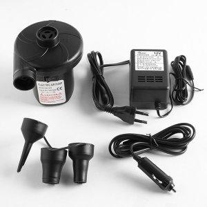 차량용+가정용 듀얼 에어펌프 풀장/보트/튜브자동펌프