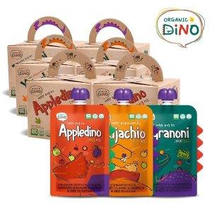 오가닉디노 유기농 주스 3박스 (총30팩)