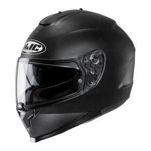 HJC C70 무광블랙 풀페이스 이너바이저 오토바이 헬멧