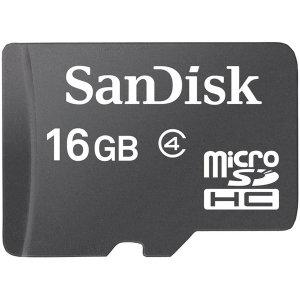 마이크로 SD카드 CLASS4 10MB/s 16GB