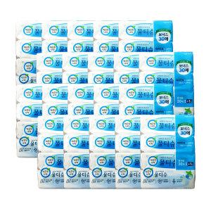 깨끗한나라 페퍼민트 물티슈 30매x4입 20팩 (총80개)