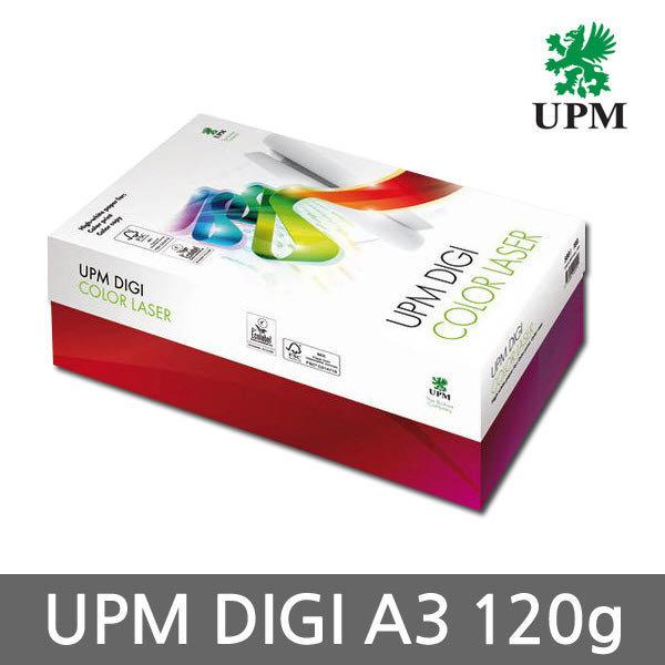 (현대Hmall)UPM DIGI(디지) 칼라 레이져전용지 A3용지 120g 1박스(1500매)/복사용지