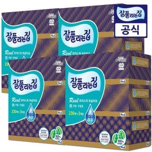 잘풀리는집 보습 미용티슈 230매 3개 4팩(총12개)