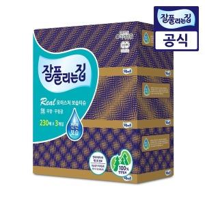 잘풀리는집 보습 미용티슈 230매 3개/휴지/화장지
