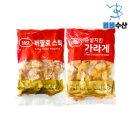 사세치킨모음 사세 버팔로봉 1kg+순살치킨 가라아게1kg
