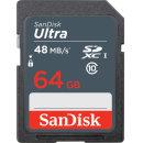 울트라 SD카드 CLASS10 48MB/s 64GB