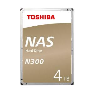 Toshiba 4TB N300 NAS HDD HDWQ140 /7200/128MB/PMR