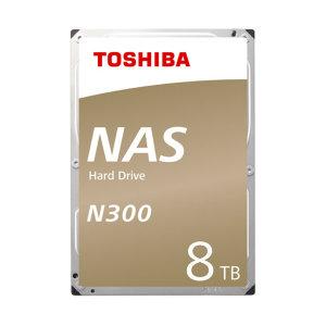 Toshiba 8TB N300 NAS HDD HDWG180 /7200/256MB/PMR
