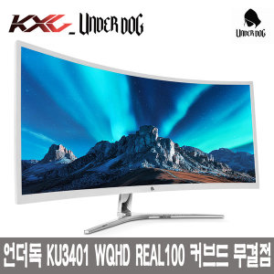 KXG KU3401 WQHD REAL100 CURVED 무결점//G-SYNC지원