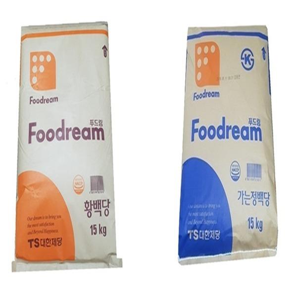 갈색설탕/흰색설탕/천연당/황백당/15kg/5kg/3kg