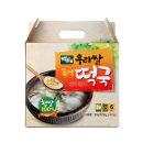 백제 우리쌀 햅쌀 즉석 떡국 선물세트 (163g x 6개)