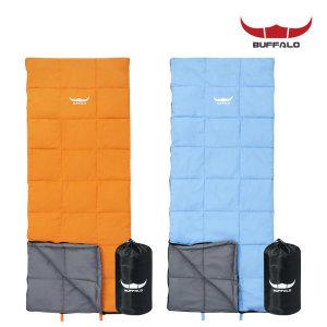 파스텔 침낭 캠핑용품 텐트 침구 사각 연장가능