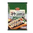 해달음 광천김 두번구운 김밥김 20g 10매 5봉 총 50매