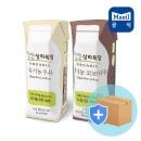 유기농 흰우유125mlx24팩+코코아125mlx24팩 상하목장