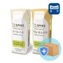 유기농 흰우유125mlx24팩+바나나125mlx24팩 상하목장