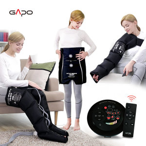 가포멀티5 블랙 풀세트 공기압마사지기 다리마사지기