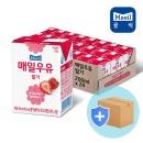 매일 멸균우유 딸기 200ml 24팩/딸기맛우유/두유