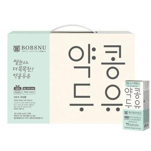 서울대 쌀눈으로 더 똑똑한 약콩두유 190ml x 24팩