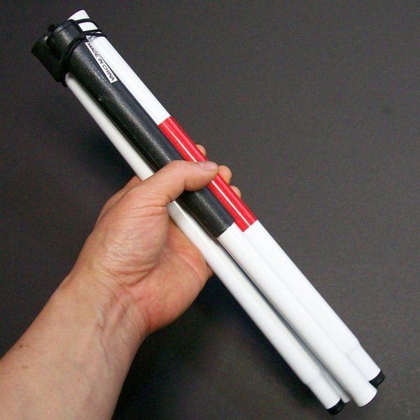 4단 초경량 흰지팡이/백색지팡이/백지팡이