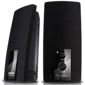 S) MS-875 블랙 스피커 PC (2채널)