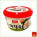 컵죽/캠핑/혼밥/간식/양반/야채죽 /285g