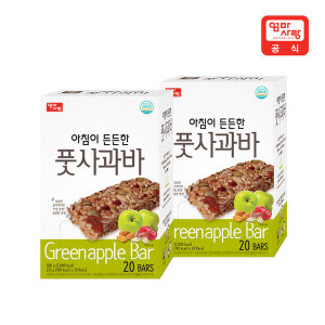 아침이든든한 풋사과바 25gx(20입) X 2세트 /식사대용 - 상품 이미지