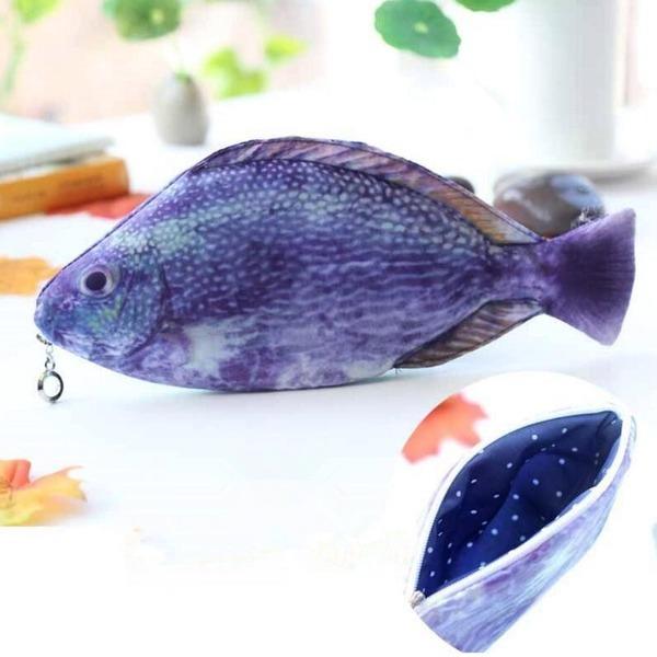 붕어 필통 물고기 다양한 종류 생선 필통PT3