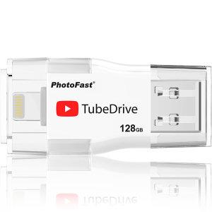 PhotoFast 아이폰 OTG USB TubeDrive 128GB