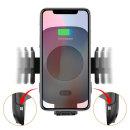 차량용 자동 무선충전 핸드폰 휴대폰 거치대 투 버튼