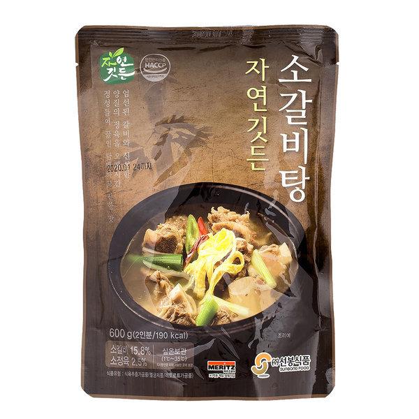 선봉식품 소갈비탕 600g 1개 상온보관
