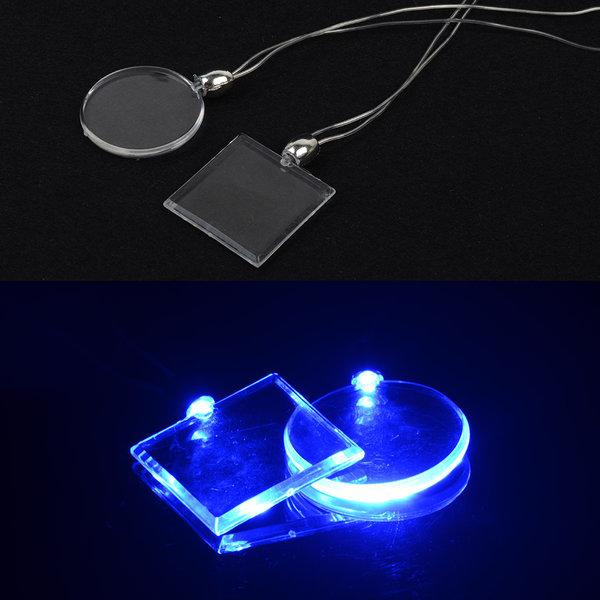 크리스탈 불빛 목걸이 (1p) 드로잉펜 LED 네임 목걸이