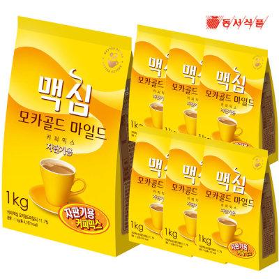 [맥심] 모카골드 자판기용 커피믹스1kg 1박스