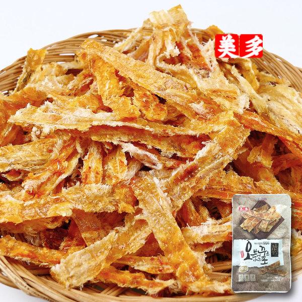 오븐에 꾸운 아귀포 매콤한맛 50g 오꾸포 건어물 L
