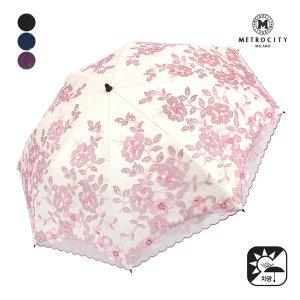 (광주신세계)백화점배송   선물포장 바람꽃 자수 차광 양산 mpsc-p916