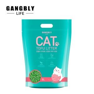 강블리라이프 고양이 두부 모래 8L X 6개 녹차