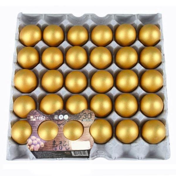 채담 맥반석에 구운 황금란 60개(두판)