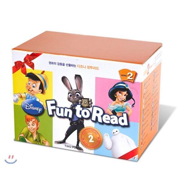 Disney Fun to Read Set : Level 2 (Paperback   Audio) (개정판) : 디즈니 펀투리드  Kitty Richard...