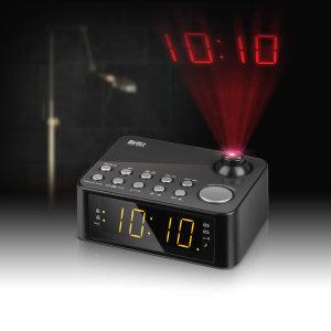 Britz BA-GY10 FM라디오 알람 시계 탁상용 라디오