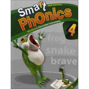 Smart Phonics 4 : Workbook (New Edition) : 스마트 파닉스  편집부