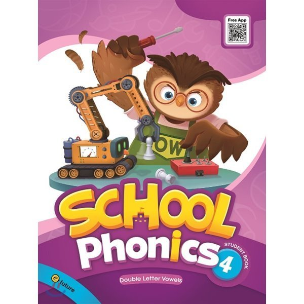 School Phonics Student Book 4  Grace Hwang  Sonya Park