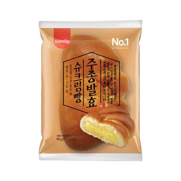 (무료배송) 삼립 주종발효 슈크림빵 90g x 10봉