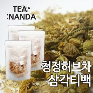 티난다 허브차 히비스커스 캐모마일 레몬밤 티백