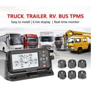 트럭 tpms  타이어 tpms 무선 6 pcs